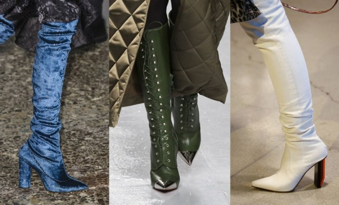 Trendy Boots Fall-Winter 2018-2018