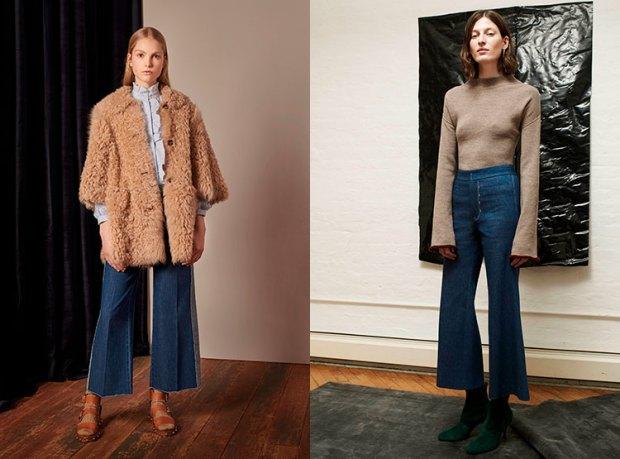 Flared women jeans fall 2018 winter 2019
