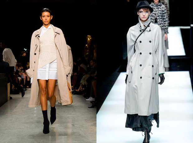 Classic trench coats fall winter 2018 2019