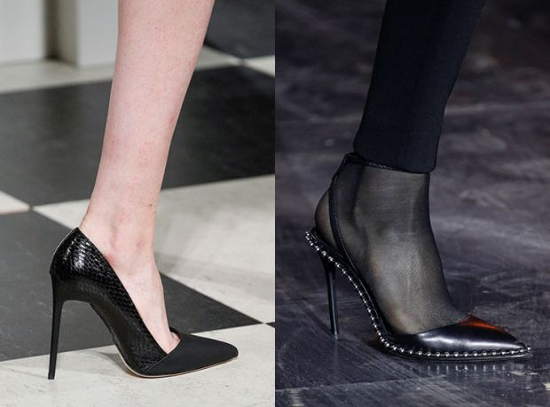 Fall 2018 shoes trends