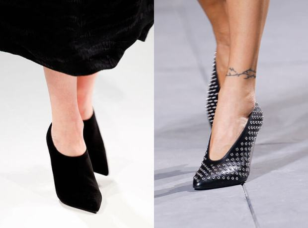 Shoes with pointed toe 2018 2019