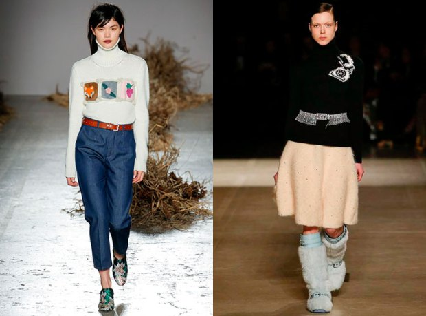 What sweater to wear in winter 2019