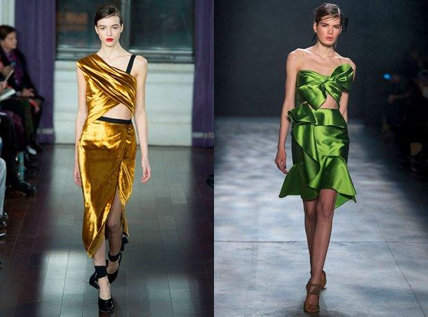 Asymmetric cocktail dresses