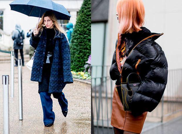 Street style fall winter 2018 2019: oversize