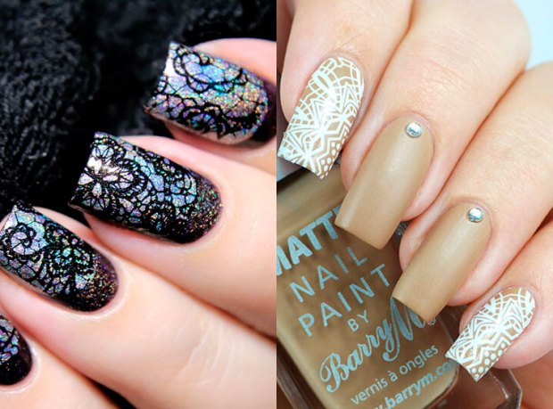 New Year Eve nail designs