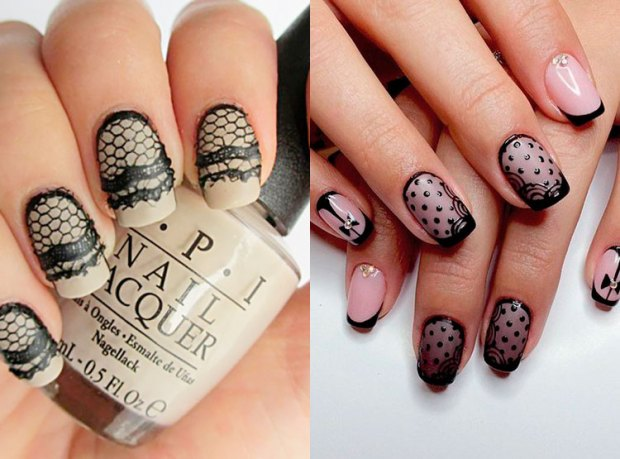 What nail design to wear in fall 2018