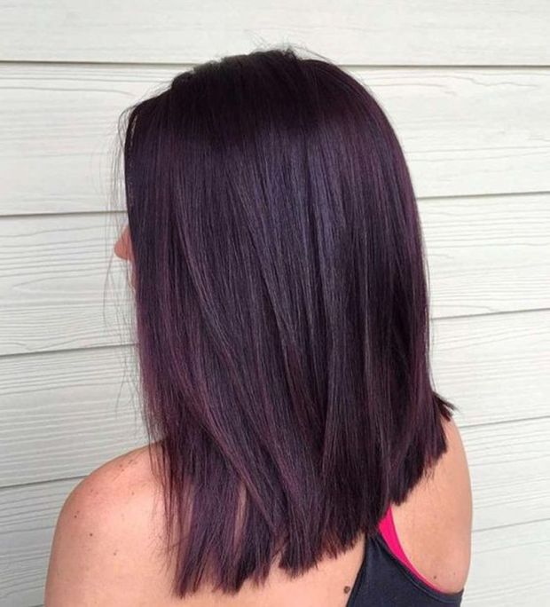 Hair color suitable for brunettes