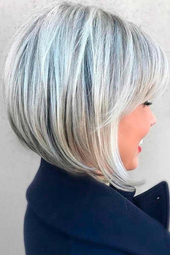 Women's haircuts 2019 medium bob