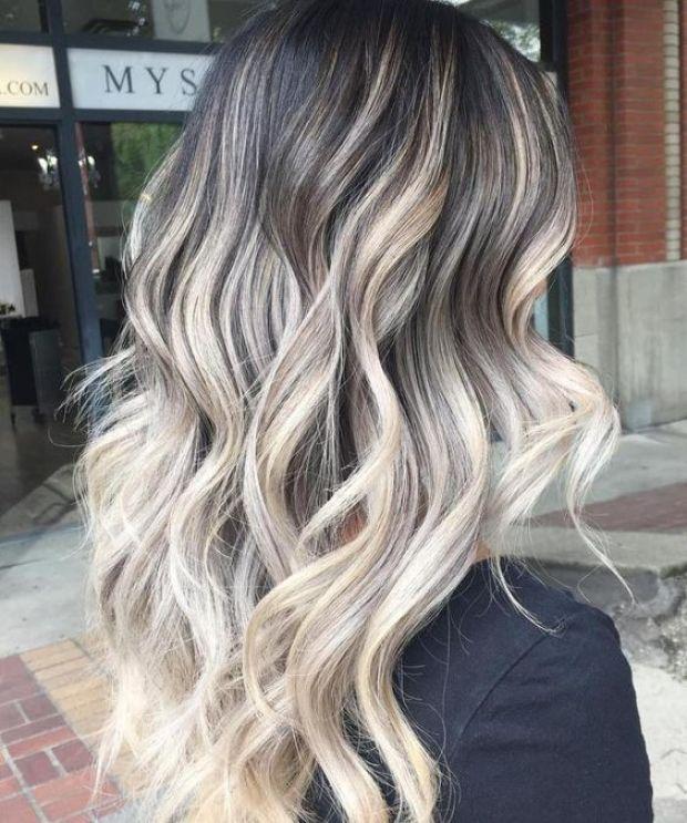 Balayage 2019 ash blonde