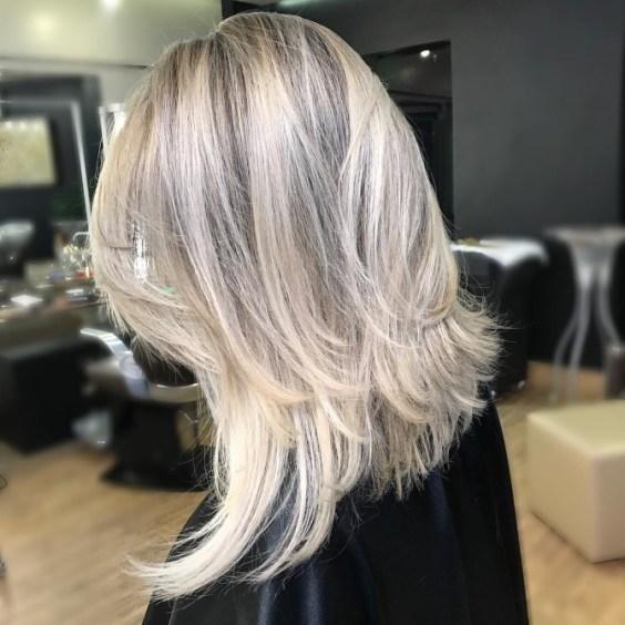 Haircut 2019 waterfall medium length hair
