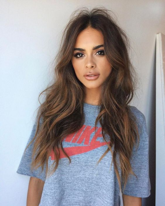 Wavy haircuts for long hair
