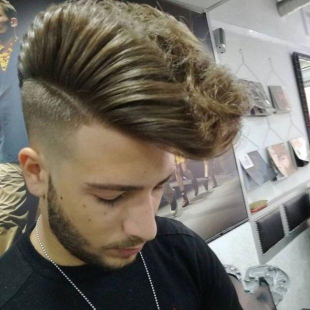 Men haircut 2019 comb over