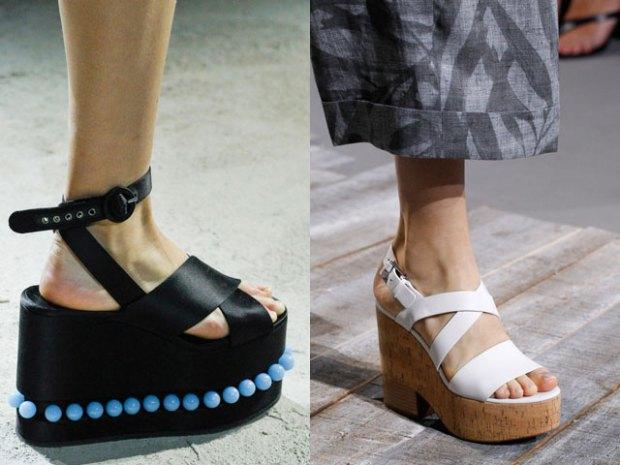 Platform sandals spring summer 2019