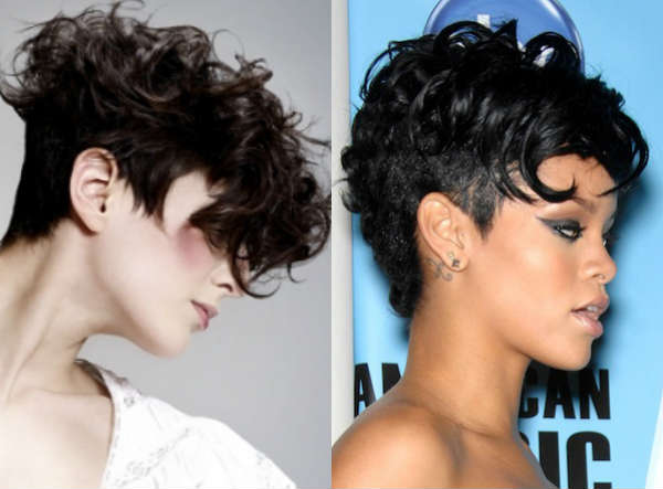 Haircuts ideas for short curly hair