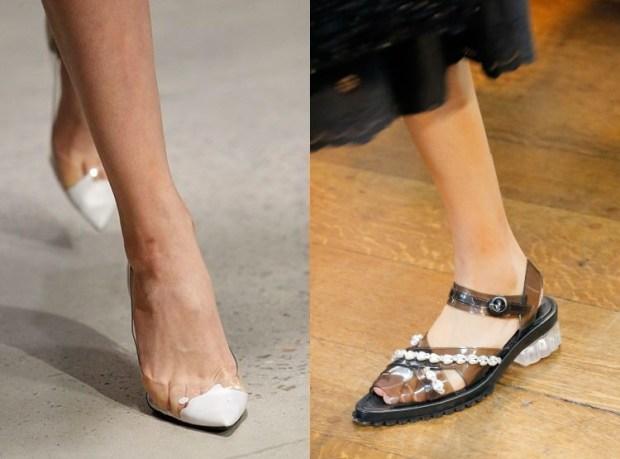 Footwear trends 2019