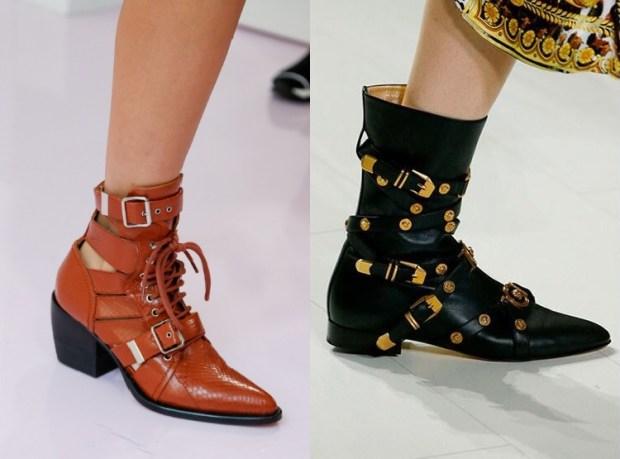 Leather footwear 2019