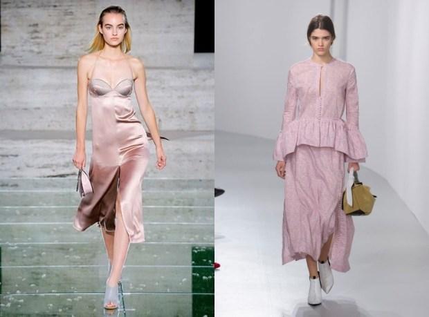 Pastel shades dresses 2019
