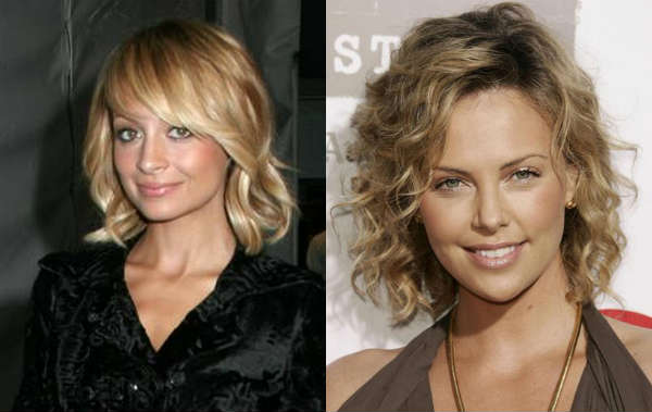 Medium length curly haircuts celebrities