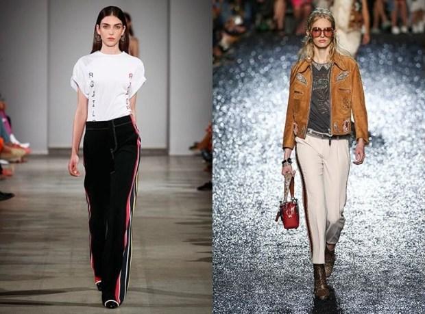 Women striped pants 2019