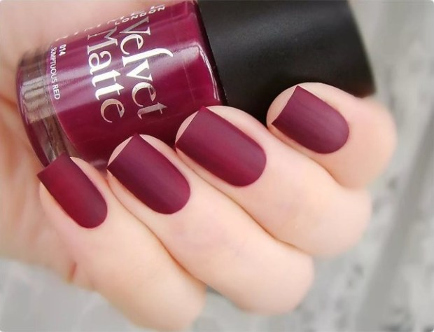 Cute red nails 2019