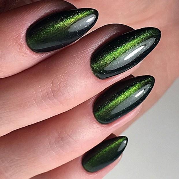 Cat eye nail design 2019