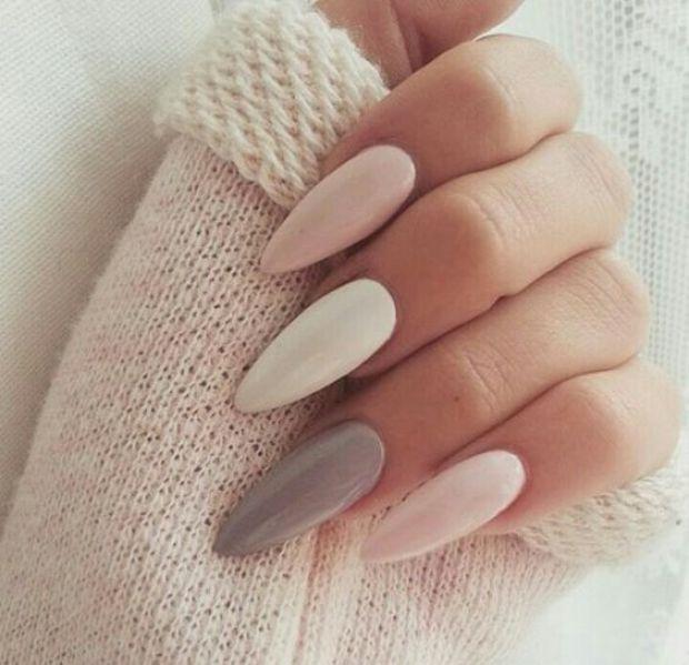 Nails 2019 different colors