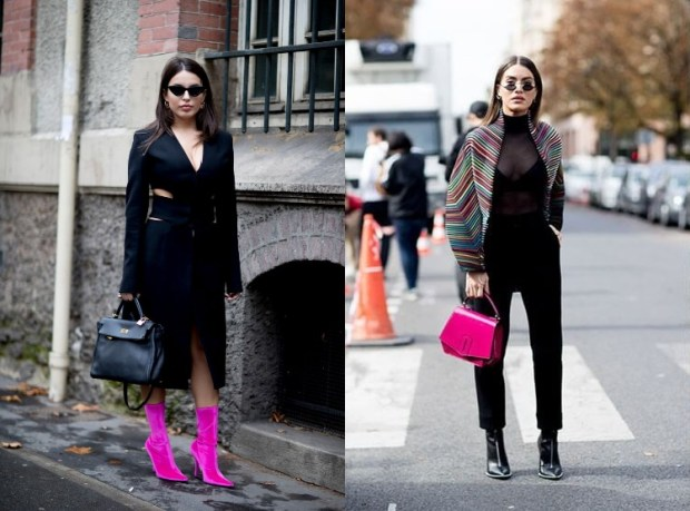 bloggers outfits at fashion weeks