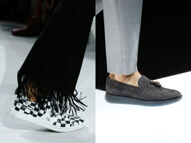 Flat sole shoes spring summer 2021