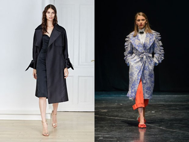 Women evening trench coats 2019