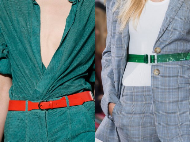 Fashion belts 2019 bright colors