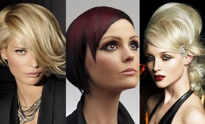 Asymmetrical Bangs Hairstyles