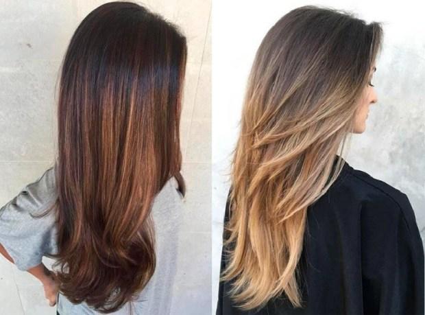 Haircuts for long hair 2020