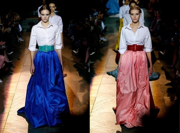 Maxi skirts for fall 2019