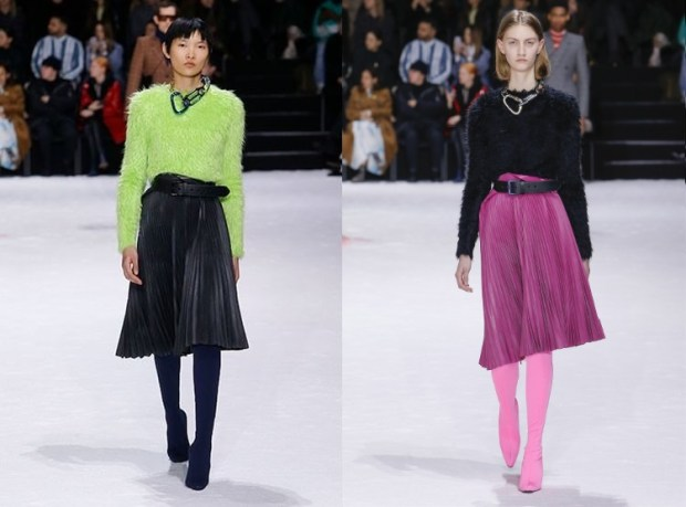 Pleated skirts fall winter 2019 2020