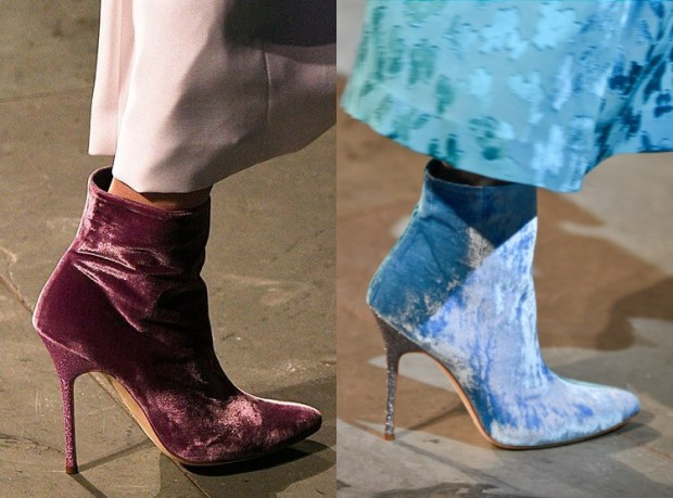 Velvet boots fall winter 2019 2020
