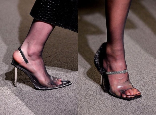Fashion transparent footwear 2020