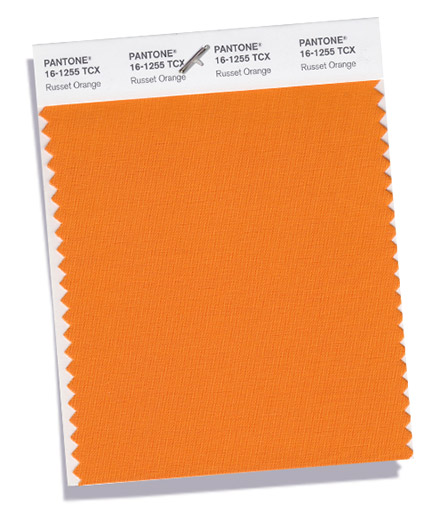 Russet Orange color