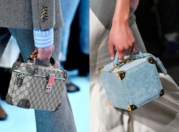 Squared handbags