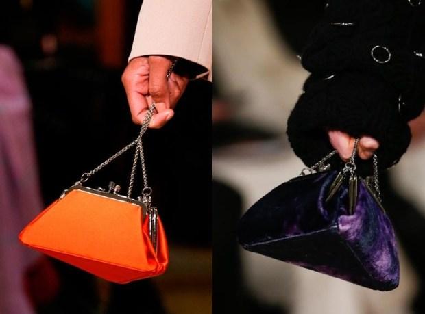 Unusual chain handbags