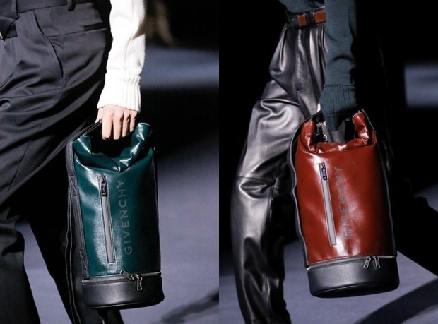 Big leather bags
