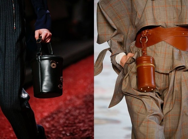 Fashionable cylindrical bags in 2020