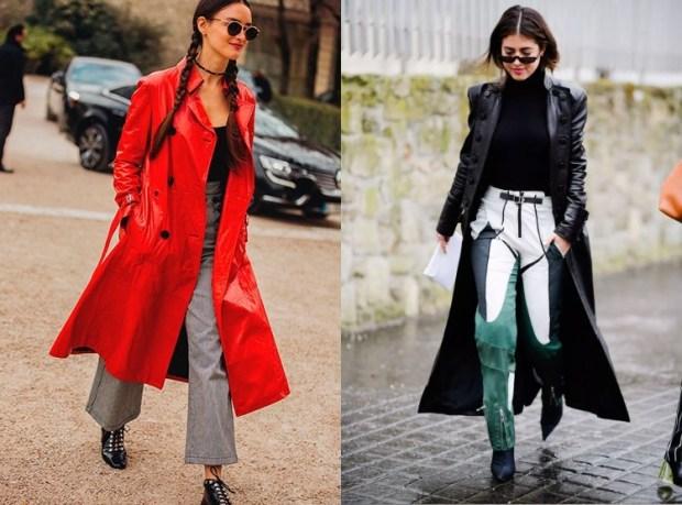 Leather fashion coats 2020
