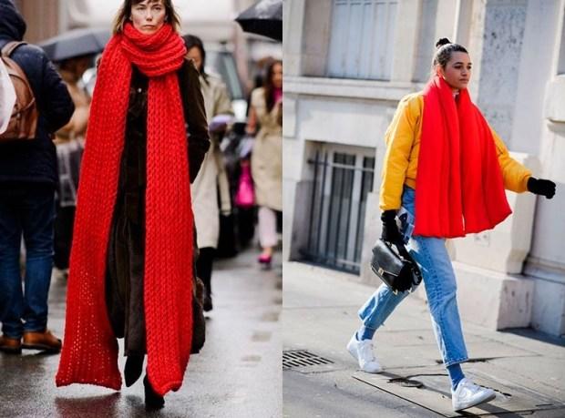 Big fashion scarf winter 2020