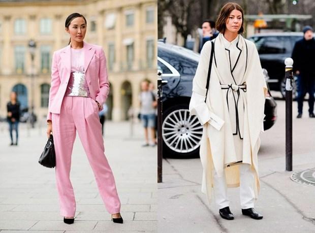 Fall winter street style fashion 2019 2020: monolook