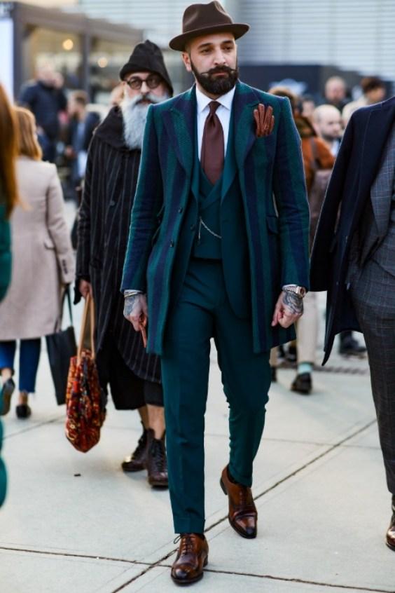 Elegant men suit