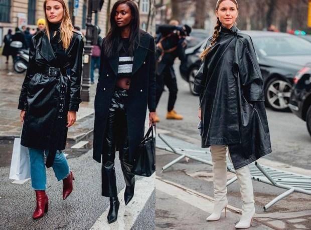 Blogger outfits at fashion week