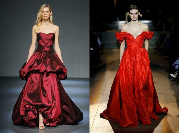 Red evening gown 2020 women