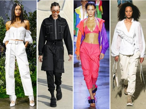 Cargo pants New York fashion week
