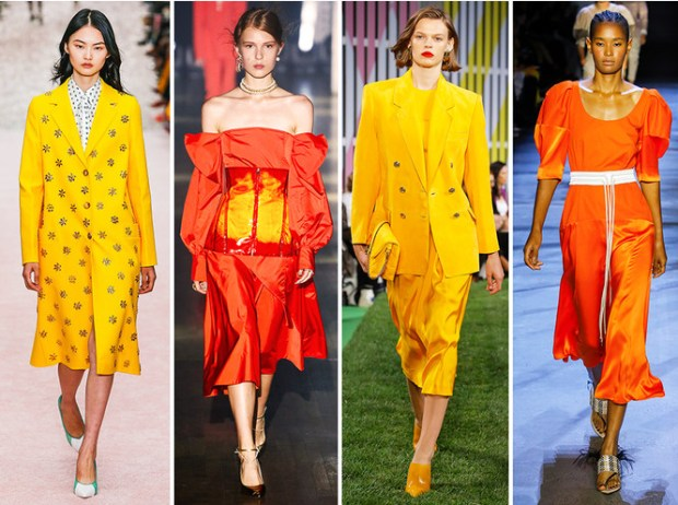 New York fashion week 2020 colors