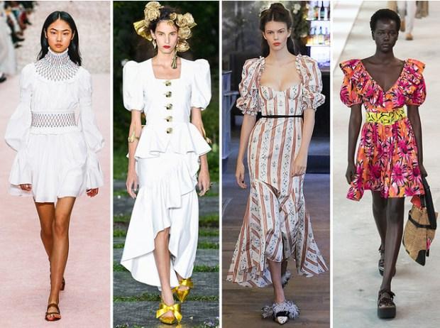 Fashion puffy sleeves 2020